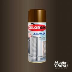 Tinta Spray Colorgin Alumen 772 Bronze Escuro 350ml