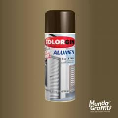 Tinta Spray Colorgin Alumen Bronze 1002 350ml