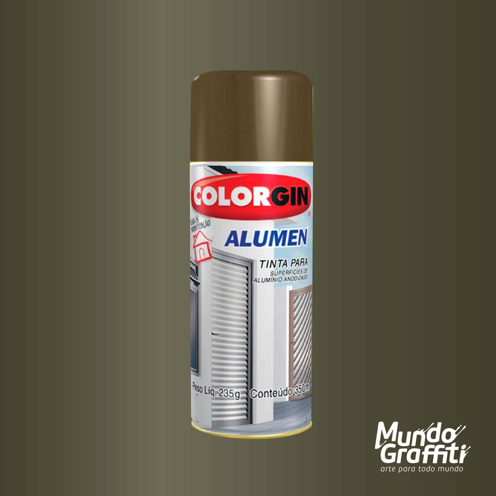 Tinta Spray Colorgin Alumen 771 Bronze Claro 350ml - Mundo Graffiti