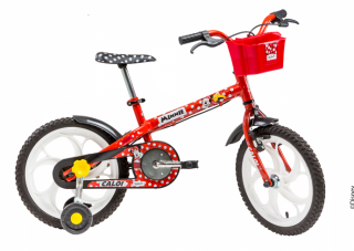 Bicicleta Caloi Minnie 16