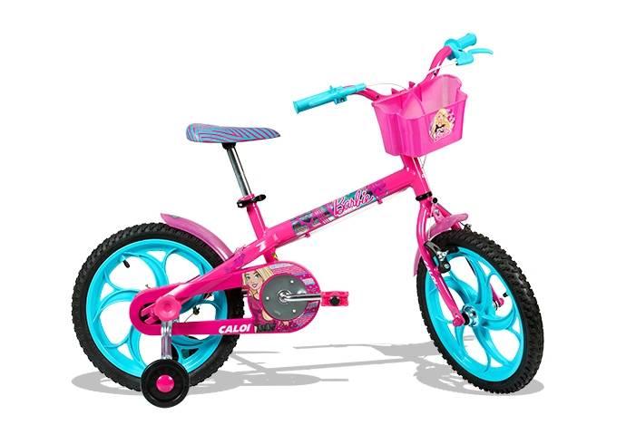 Bicicleta Caloi Barbie 16