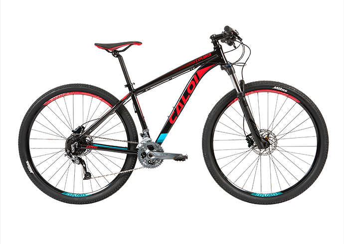 Bicicleta Caloi Explorer Expert - Alex Ribeiro Bikes