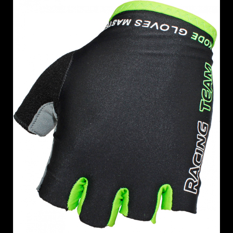 Luva Kode Racing Team Preta/Verde - Alex Ribeiro Bikes