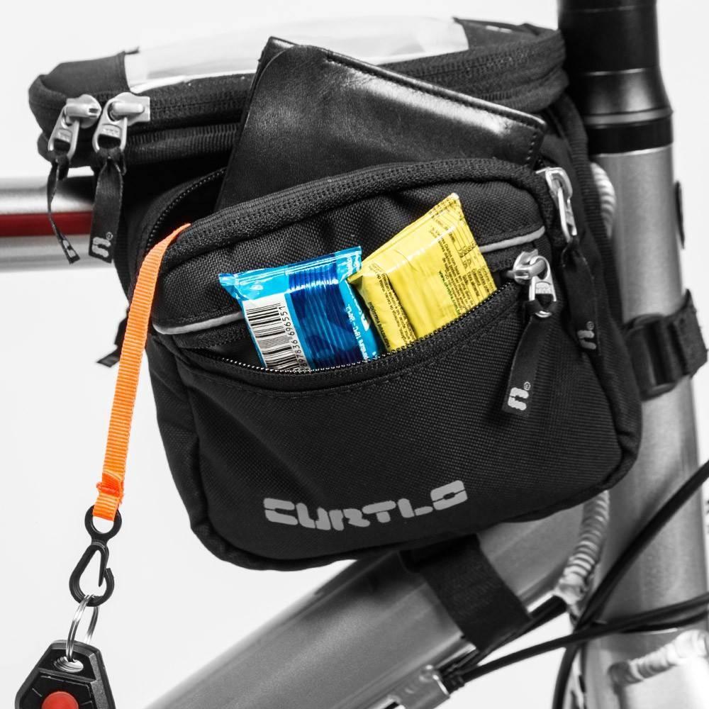 Bolsa de Quadro Curtlo Mini-Alforge Transport - Alex Ribeiro Bikes