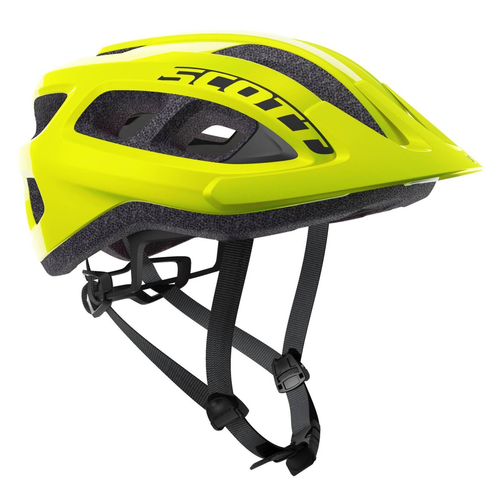 Capacete Scott Supra - Fluorescente - Alex Ribeiro Bikes