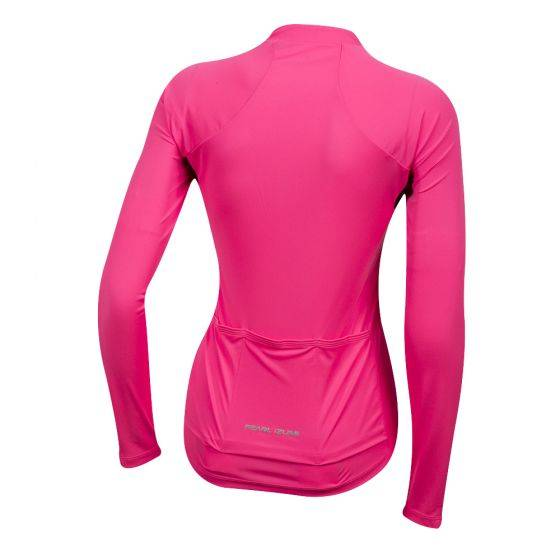 Camisa Pearl Izumi Select Pursuit Long Sleeve Pink - Alex Ribeiro Bikes