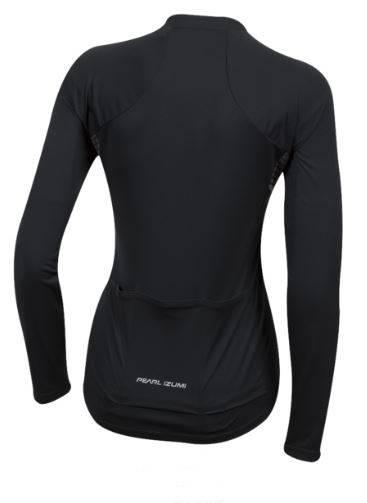Camisa Pearl Izumi Select Pursuit Long Sleeve Preta - Alex Ribeiro Bikes