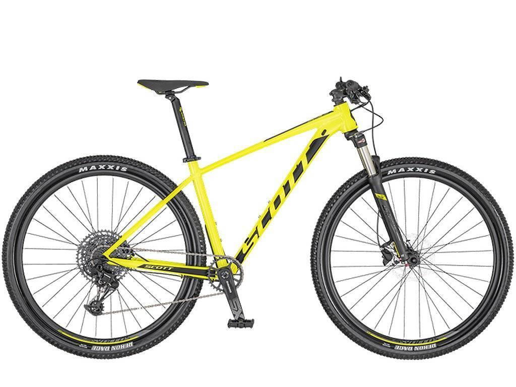 Bicicleta Scott Scale 980 2020 Amarela - Alex Ribeiro Bikes