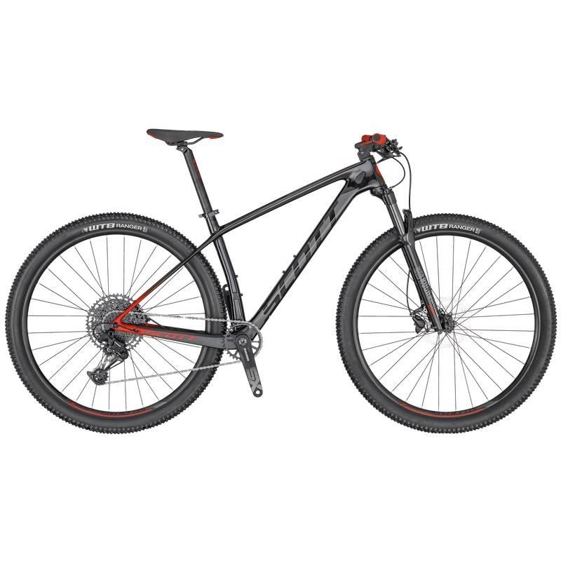 Bicicleta Scott Scale 940 2020 Preta/Vermelha - Alex Ribeiro Bikes