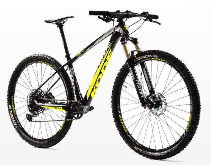 Bicicleta Kode Rock's - Alex Ribeiro Bikes