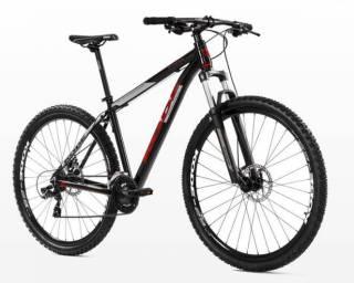 Bicicleta Kode Attractive Preta/Vermelha