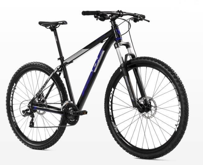 Bicicleta Kode Attractive Preta/Azul - Alex Ribeiro Bikes