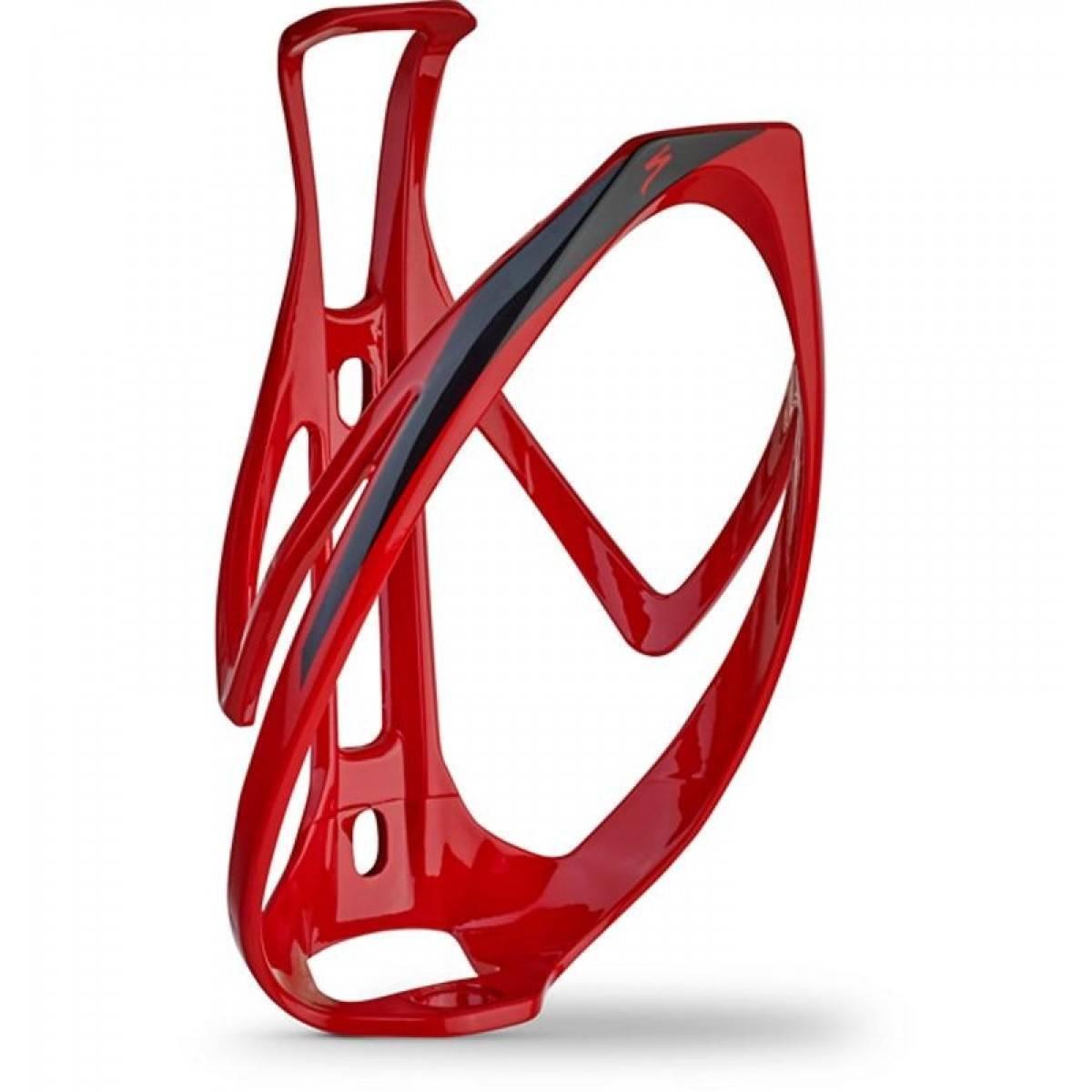 Suporte de Caramanhola Specialized Rib Cage II - Vermelho/Preto - Alex Ribeiro Bikes