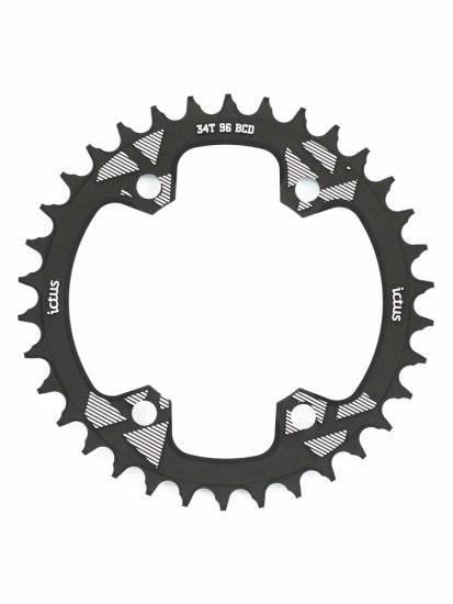 Coroa Ictus Assimétrica 96 BCD 34T - Alex Ribeiro Bikes