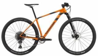 Bicicleta Cannondale FS-I Carbon 4 2020 Laranja