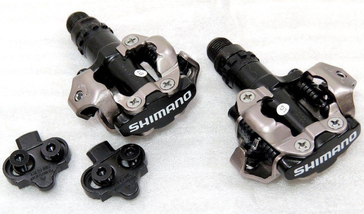 Pedal Shimano PD-M520 Preto - Alex Ribeiro Bikes
