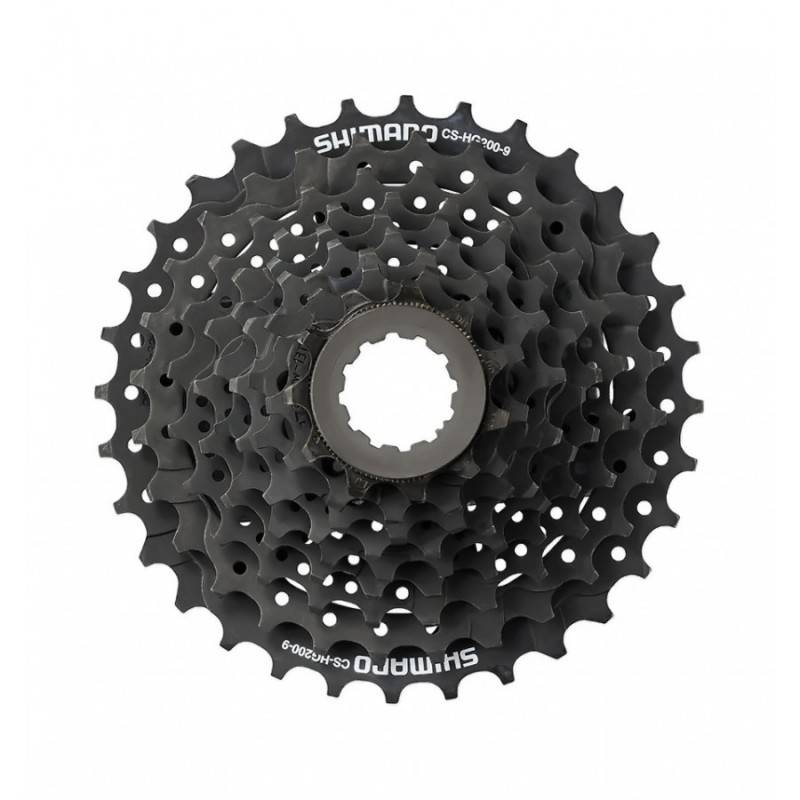 Cassete Shimano Alivio CS-HG200 9 velocidades - Alex Ribeiro Bikes