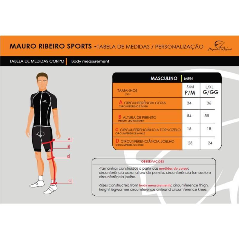 Pernito Mauro Ribeiro de Inverno Felpado - Alex Ribeiro Bikes