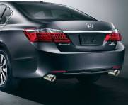 KIT PONTEIRA HONDA ACCORD V6 2008 A 2017 CHANFRADA AÇO INOX