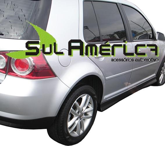 SPOILER LATERAL VW GOLF 07 08 09 10 11 12 13 4P MODELO DISCR - Sul Acessorios