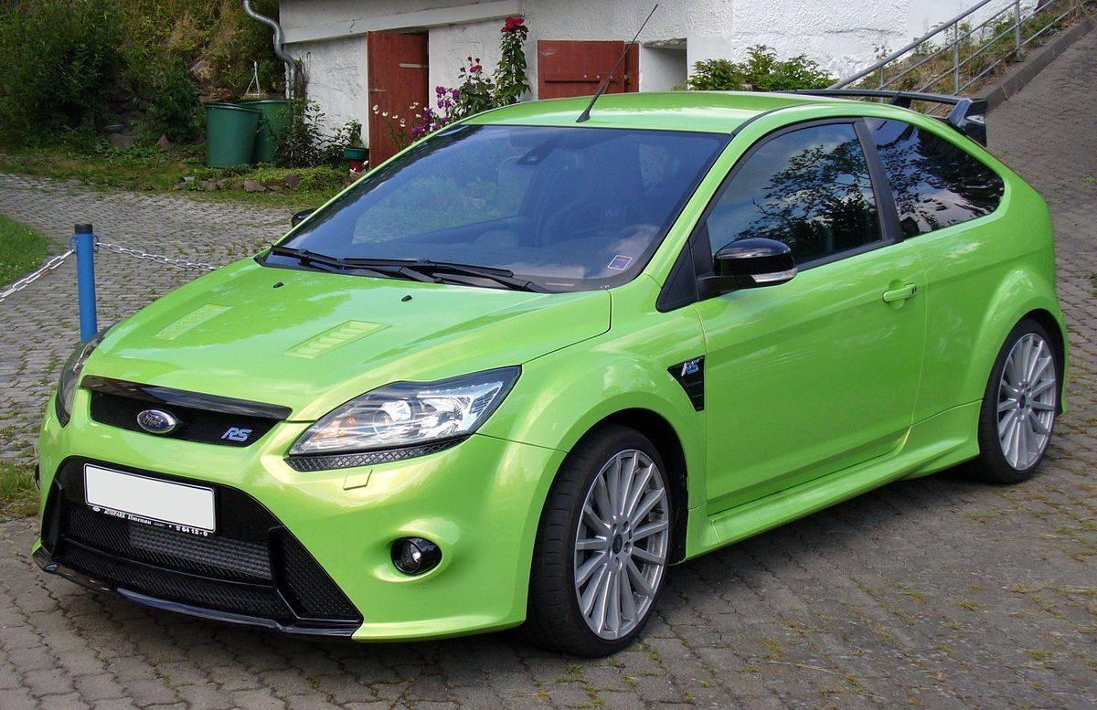 AEROFOLIO FOCUS RS MK 2009 2010 2011 2012 - Sul Acessorios