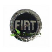EMBLEMA GRADE AZUL FIAT 8,5cm - PALIO SIENA STRADA FIRE G3 0