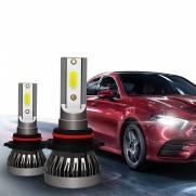 KIT LAMPADA H7 LED 6000K Farol Alto Omega Australiano PAR