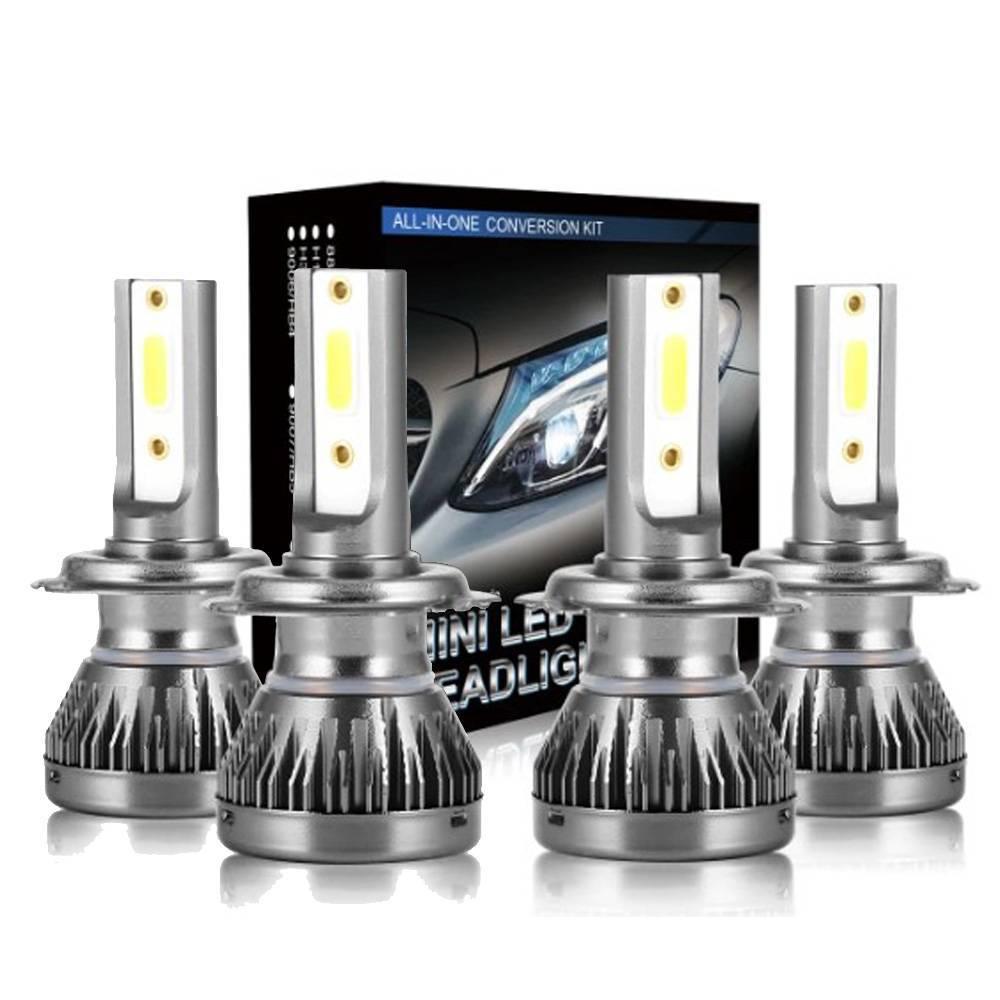 KIT LAMPADA H7 LED 6000K Farol Baixo e Alto Aircross - Sul Acessorios