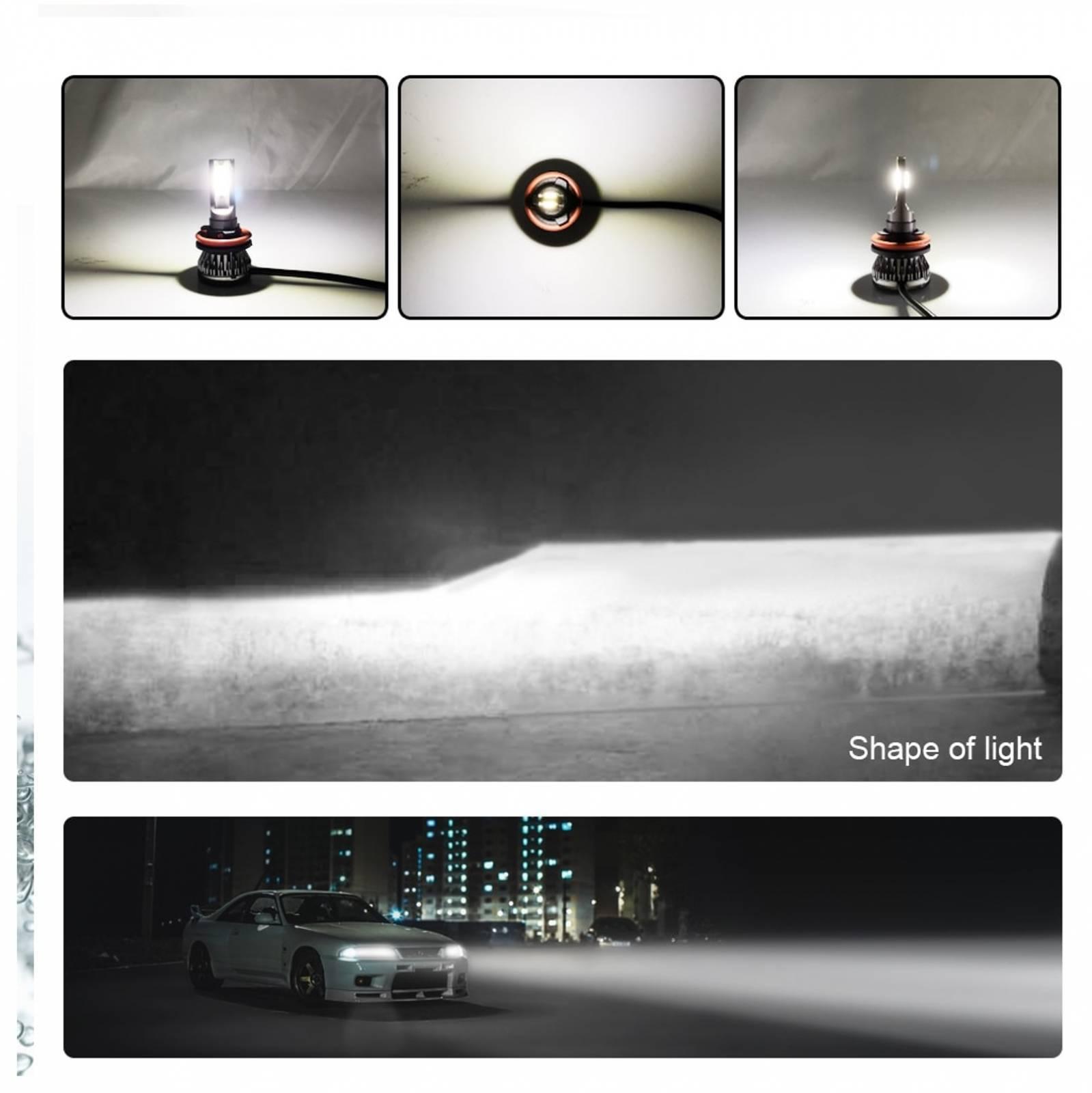 Kit Lampada H7 LED 6000K Farol Baixo e Alto Nova Sportage - Sul Acessorios