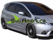 SPOILER LATERAL HONDA NEW FIT 09 10 11 12 13 14 15 16 SPORT