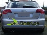PONTEIRA DUPLA P/ ESCAPAMENTO AÇO INOX AUDI A3 SPORTBACK 10/15 (2PÇ´S)