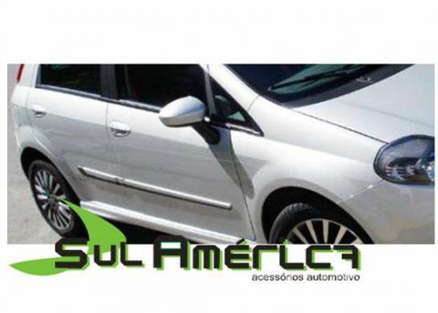 FRISO LATERAL FIAT PUNTO 07/15 4P PRETO (2 CORES) - Sul Acessorios