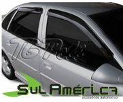 CALHA DE CHUVA GM VECTRA 97 98 99 00 01 02 03 04 05 4P FUME