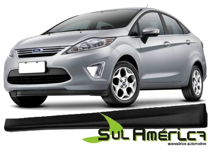 SPOILER LATERAL NEW FIESTA 2011/2018 4P HATCH SEDAN