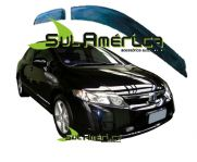CALHA DE CHUVA NEW CIVIC 06 07 08 09 10 11 12 4P FUME ORIGINAL