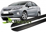 FRISO LATERAL FORD NEW FIESTA 11 12 13 14 15 16 4P PRETO