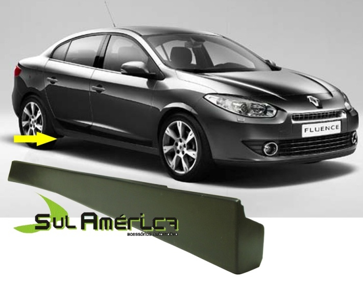 SPOILER LATERAL FLUENCE 2011 A 2017 CLASICO