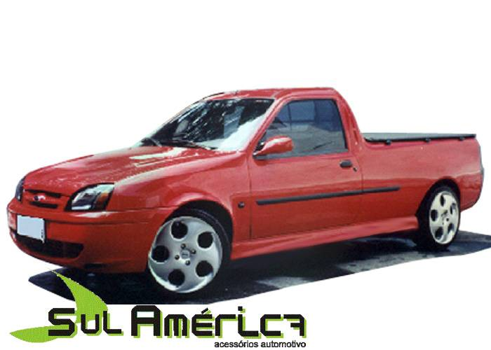 SPOILER LATERAL FORD COURIER 1996 A 2013 PICKUP SPORT - Sul Acessorios