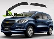CALHA DE CHUVA GM SPIN 2012 2013 2014 2015 2016 4P FUME ORIG