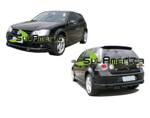 JOGO COMPLETO SPOILER VW GOLF G4 2007 2008 2009 2010 2011 20