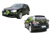 JOGO COMPLETO SPOILER VW GOLF G4 2007 2008 2009 2010 2011 2012 2013 SPORT