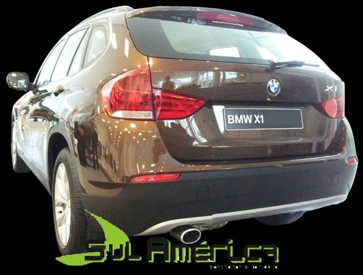 PONTEIRA P/ ESCAPAMENTO AÇO INOX BMW X1 11/13 ORIGINAL