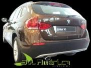 PONTEIRA ESCAPAMENTO BMW X1 11/13 AÇO INOX ORIGINAL