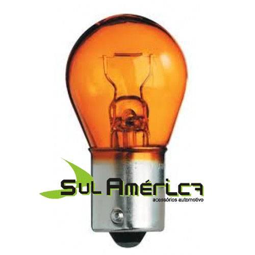 LAMPADA PISCA AMBAR 12V 21W 1 POLO - ORIGINAL ALEMÃ NEOLUX (