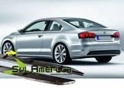 FRISO LATERAL INFERIOR VW JETTA 06/15 4P CROMADO (4PÇ´S)