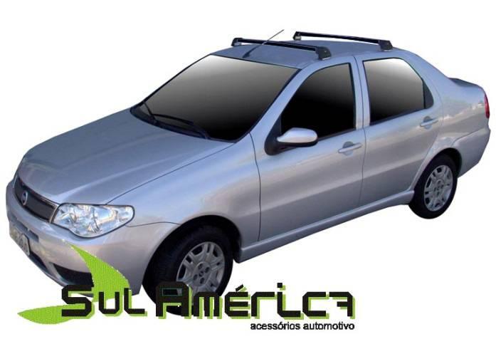 RACK TETO FIAT PALIO SIENA 1996 A 2015 4P ALUMINIO