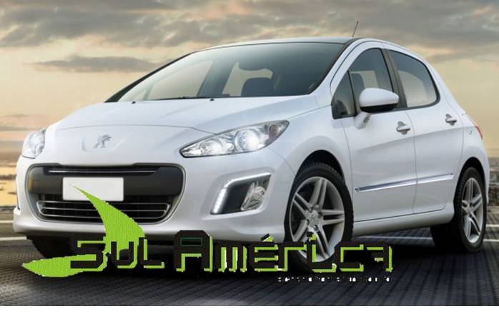 FRISO LATERAL PEUGEOT 208 308 12/15 4P CROMADO (4PÇ?S)