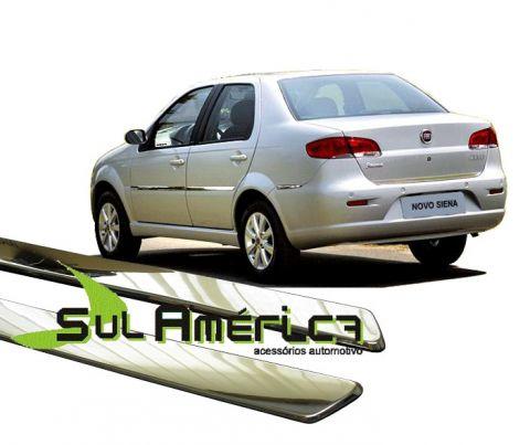 FRISO LATERAL PALIO SIENA EL ELX G4 2008 A 2011 4P CROMADO - Sul Acessorios