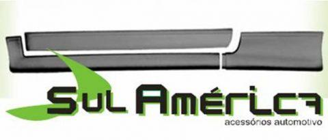 SPOILER LATERAL GOL BOLA GTi 95 96 97 98 99 2PORTAS 6PEÇAS  - Sul Acessorios