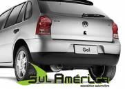 PARACHOQUE TRASEIRO VW GOL G4 05/13 PRETO LISO
